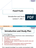 Lecture 1-2 Fossil Fuels