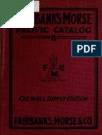 Fairbanks, Morse and Company. 1914. General Catalog, Pacific B, 1914