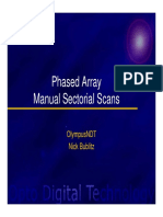 Phased Array Sectorial Scanning Overview