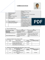 Contoh Form Cv Dosen