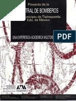 Proyecto de La Central de Bomberos BAJO Azcapotzalco