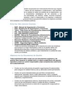293216461 Principales Documentos de Gestion Empresarial