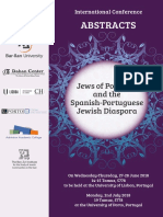 Jews of Portugal - abstract Booklet