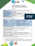 Guía de Actividades y Rúbrica de Evaluación - Actividad 6 Consolidar Artículo de Investigación
