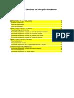 Guía Rápida Para El Cálculo de Los Principales Indicadores