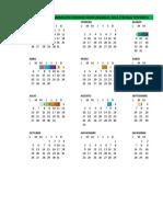 Calendario Fondos Concursables 2015
