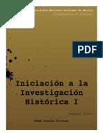 Car Iniciacic3b3n a La Investigacic3b3n Histc3b3rica i 2016 1