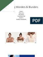 Marketing Wonders & Blunders