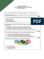 PDU 3° Básico History Con Tabla de Especificación