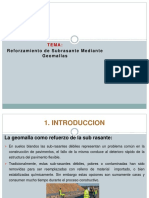 Reforzamiento de La Sub Rasante Mediante Geomallas Grupo 4