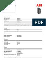 1SFA897105R7000-pse45-600-70-softstarter