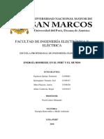 Energia Biodiesel en El Peru y El Mundo