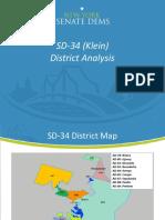 SD-34 (Klein) Election Analysis (AB)