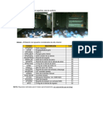 Relacion de Repuestos - Bomba Manual Kack Pot