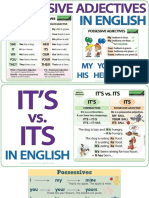 Lesson 2 - Possesive and Practical English