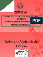 Delitos de Violencia de Género