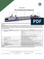 Pvc and Wpc Wood Plastic Panel Production Line en PDF