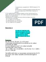 exercice arithmétique commerciale tcvvpr