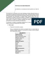 Protocolo Caracterización Del Lodo Residual