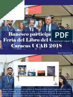 Juan Carlos Escotet - Banesco Participa en La Feria Del Libro Del Oeste de Caracas UCAB 2018