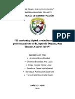Tesina.marketing Digital