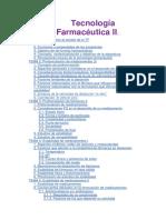 Tecnología Farmacéutica II