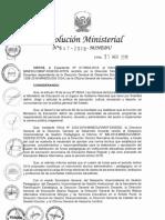 RM N 647-2018-MINEDU_cuadro de Horas 2019