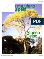 Porque Me Ufano Do Meu País - Afonso Celso