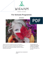 wigwam forest school for schools