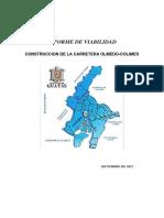Informe de Viabilidad Colimes-olmedo. LAICA