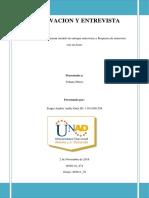Unidad 2 Paso 3 Observacion y Entrevista Sergio Ardila