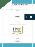 Unidad 2 Fase 3 Observacion y Entrevista Julieth Suarez