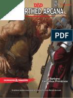 D&D 5E - Unearthed Arcana - Bárbaro - Caminhos Primitivos - Biblioteca Élfica.pdf
