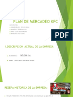 Plan de Mercadeo Kfc