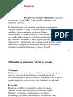 CLASE MAGISTER - Derecho de Alimentos