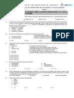 Cosmovision Examen Primer Parcial Fila A