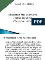 Ppt Angina Pectoris