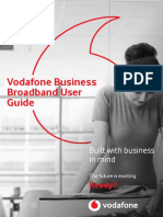 Vodafone Business Broadband User Guide 2018