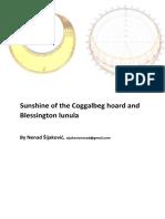 Sunshine of the Coggalbeg Hoard and Blessington Lunula