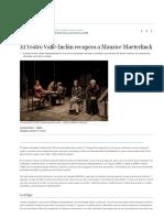 El Teatro Valle-Inclán recupera a Maurice Maeterlinck _ Cultura _ EL MUNDO.pdf