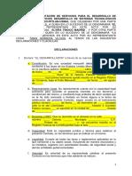2018 Contrato Desarrollo de Productos y Servicios Modificado