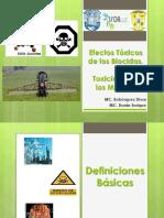 Seminario Efectos Toxicos de Los Biocidas - Toxicidad de Los Metales