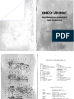 Manual Torno Emco Unimat Sl1