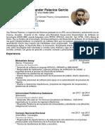 Cv Richard Alexander Palacios Garcia Software Developer