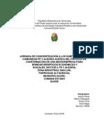 Proyecto de Servicio Comunitario IUTIRLA Extensión Cumaná