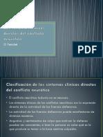 Los síntomas clínicos directos del conflicto neurótico - O. Fenichel.pptx