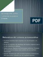 La angustia como síntoma Neurótico - O. Fenichel