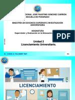 Licenciamiento Universitario