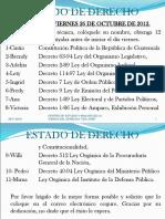 El Estado de Derecho Guatemala