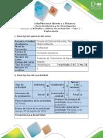 Guía de Actividades y Rúbrica de Evaluación - Fase 1 - Exploratoria